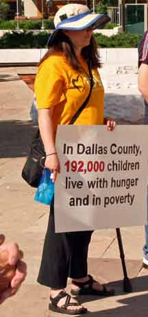 too much poverty in dallas
