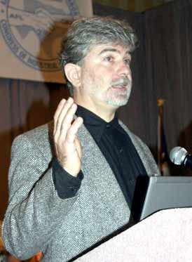 Rev Dr Joerg Rieger at an AFL-CIO convention