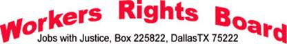 Workers Rights Board logo